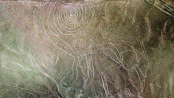 Verwirrende Nazca-Linien: Labyrinth in der Wüste