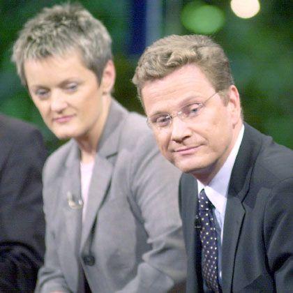 """Grüne Künast und FDP-Politiker Westerwelle: """"Da geht es doch nur noch um den Dienstwagen"""""""