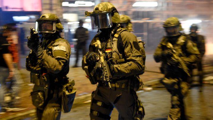 Proteste gegen G20-Gipfel: Hamburg, 7. Juli