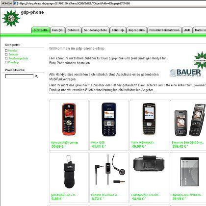 GdP-Phone-Shop: Online-Verkauf von Handys und Zubehör an Gewerkschaftsmitglieder