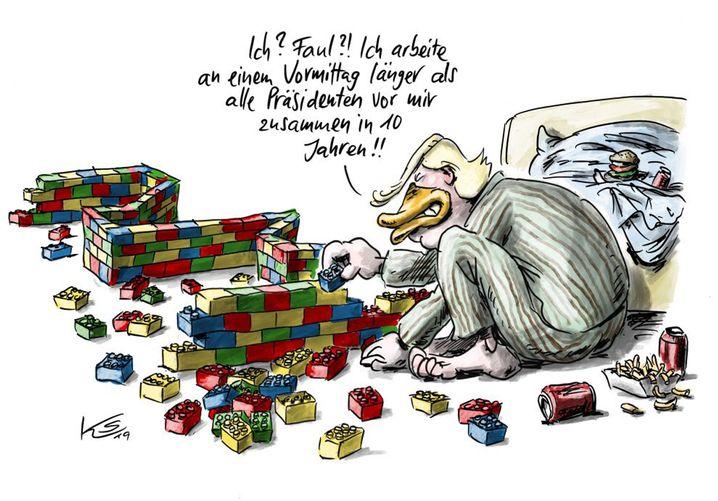 Trumps Spielzeugmauer