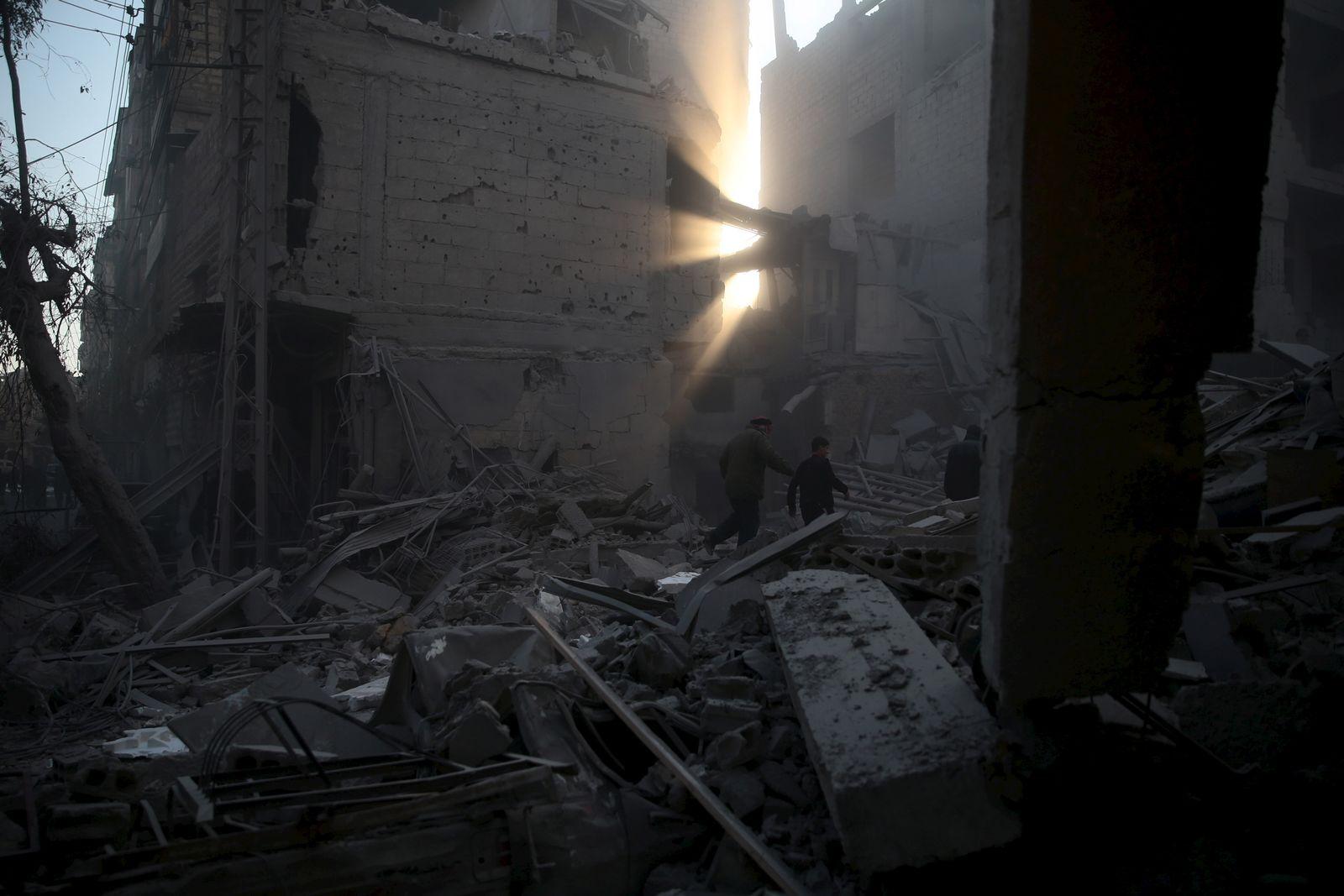 Russischer Luftangriff / Syrien