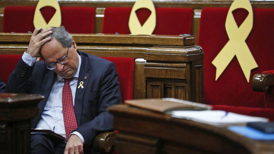 Regionalpräsident Kataloniens Quim Torra