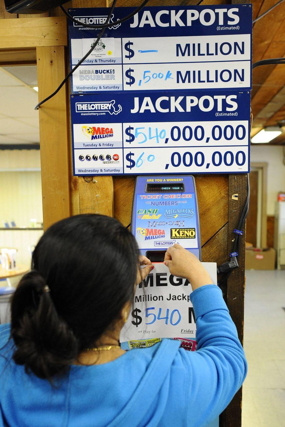 Rekord-Lotto-Jackpot in den USA liegt bei einer halbe