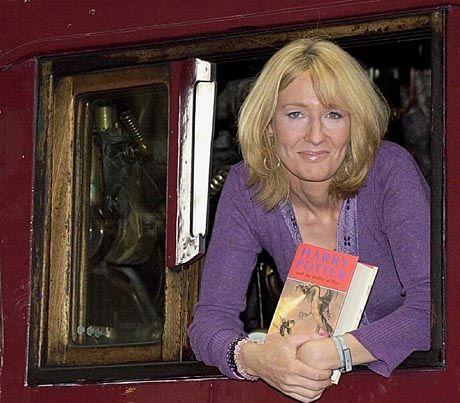 """Joanne K. Rowling: """"Really, really cute little boy"""""""