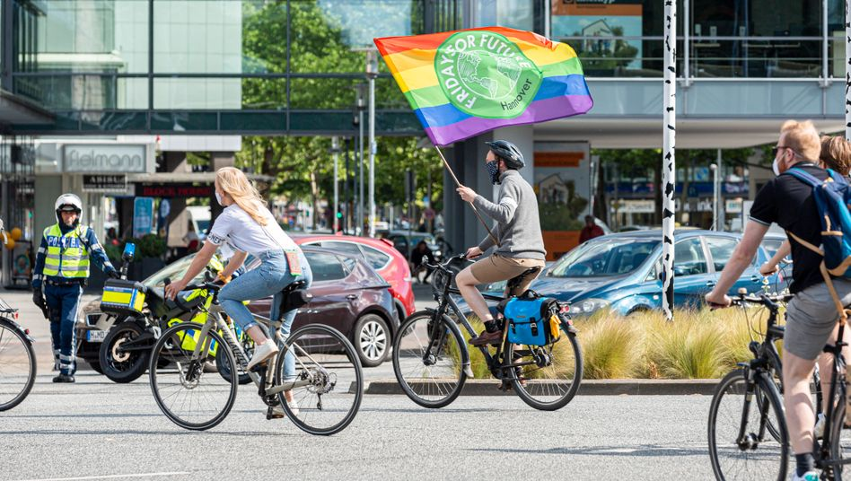 Demonstrationsteilnehmer in Hannover: In 27 Städten waren Aktionen geplant