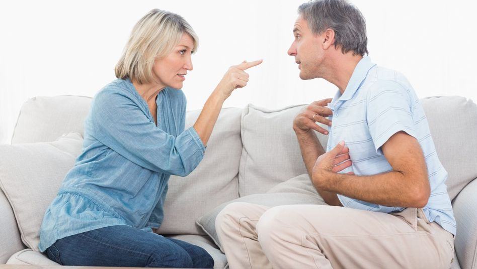 Streitendes Paar: Dauerstress im sozialen Umfeld ist nicht gut für die Gesundheit