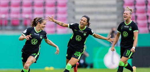 DFB-Pokal der Frauen: VfL Wolfsburg gewinnt zum sechsten Mal in Folge