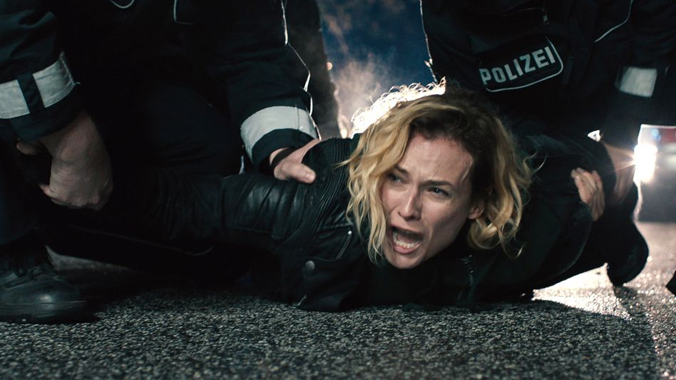 """Szene aus Fatih Akins """"Aus dem Nichts"""" (mit Diane Kruger)"""