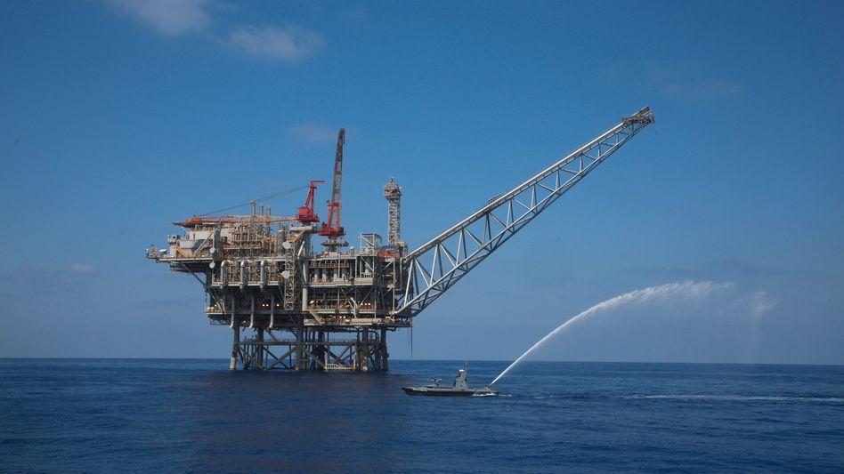 Gasfeld vor der israelischen Küste: Der Libanon will bei der Förderung im Mittelmeer nachziehen