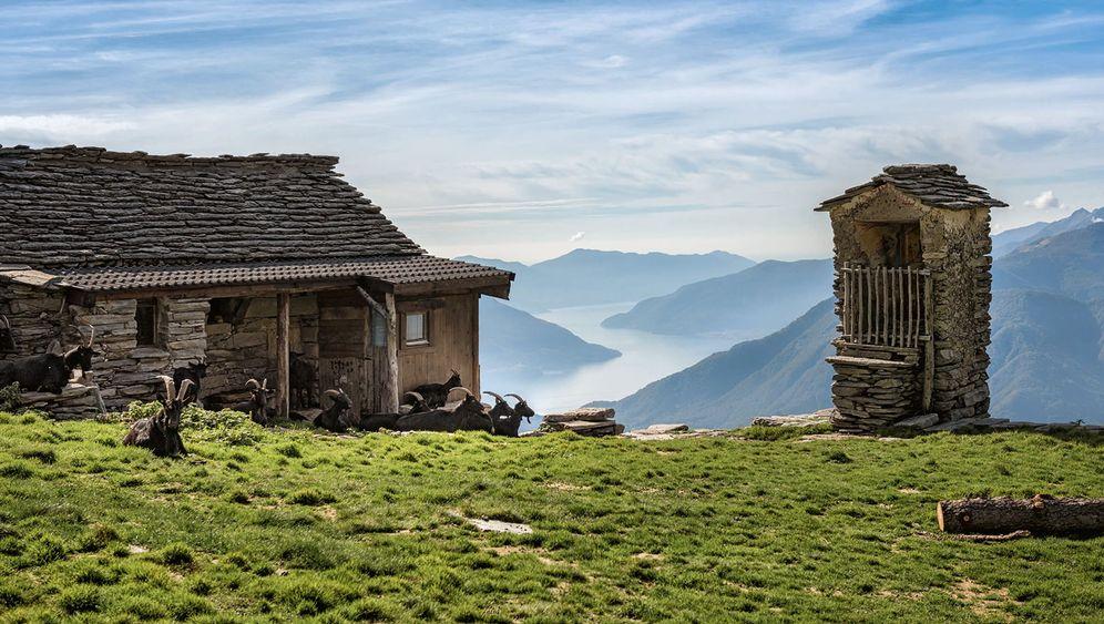 Idylle in den Alpen: Der Traum von der Hütte