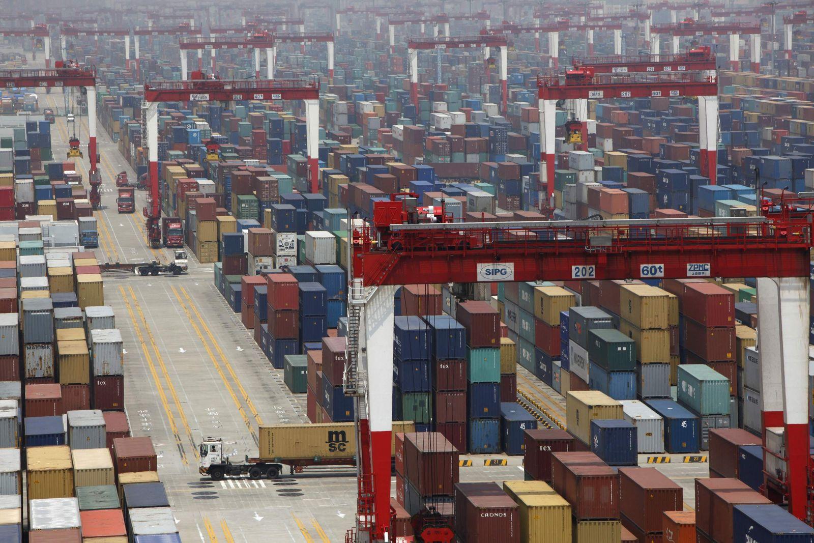China / Shanghai / Export / Konjunktur / Wirtschaft
