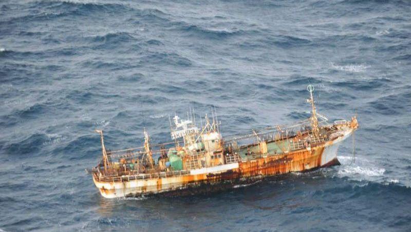 Geisterschiff: Dieser Fischtrawler trieb fast 8000 Kilometer weit über den Pazifik