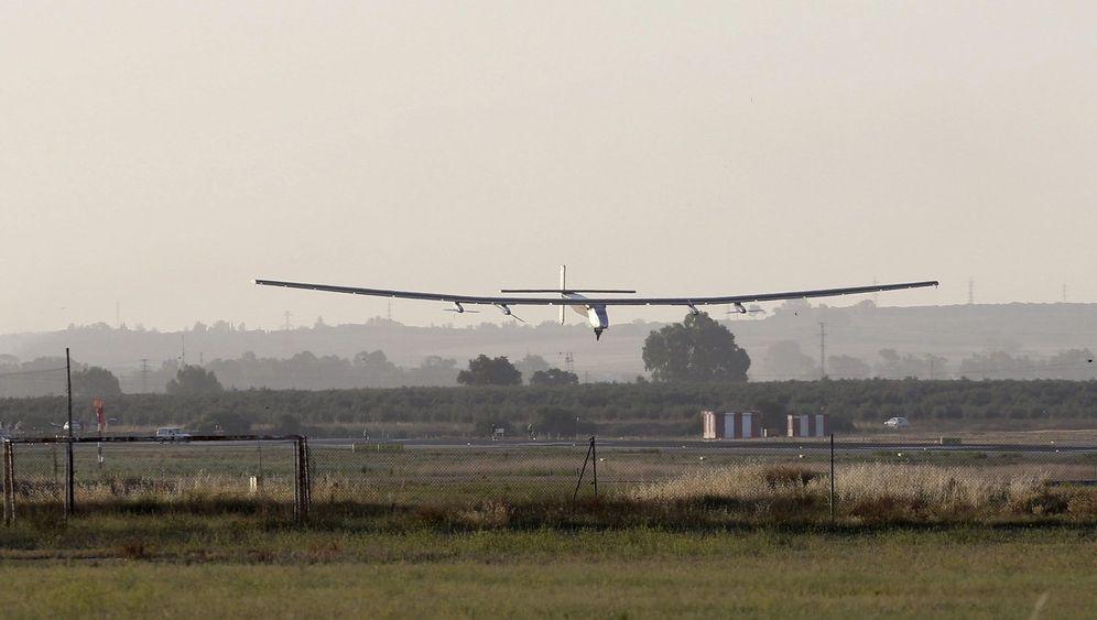 """""""Solar Impulse 2"""": Ankunft in Spanien"""