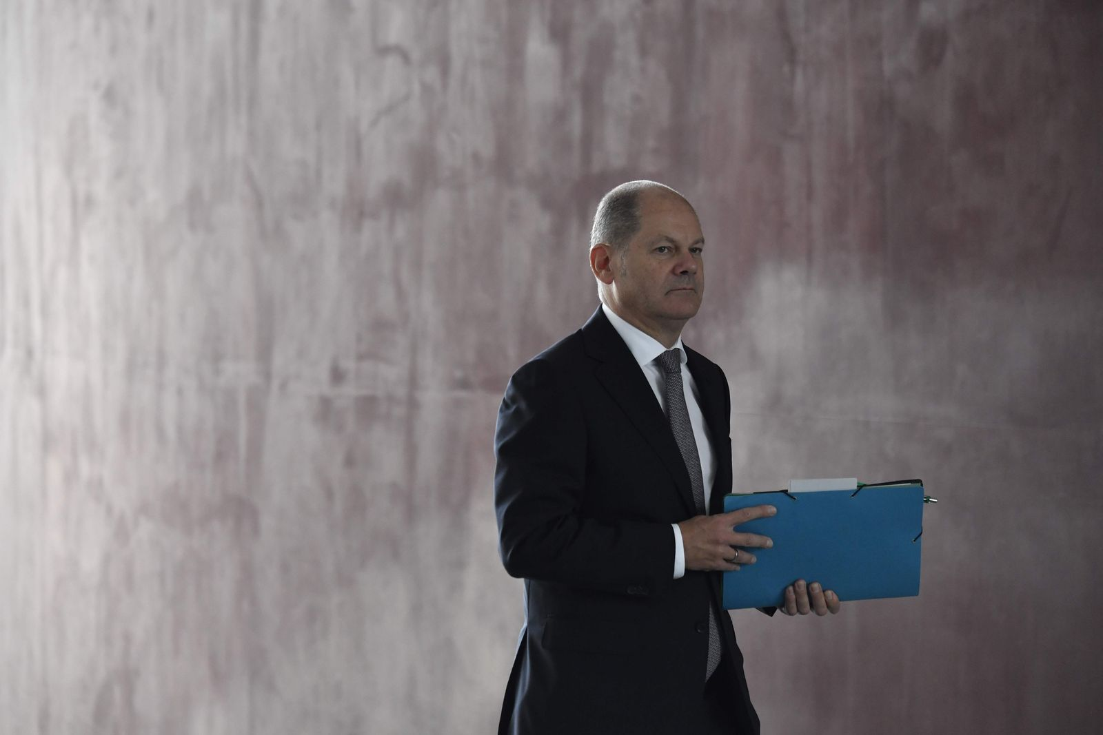 Olaf Scholz/ GERMANY-POLITICS-BUILDING-LABOUR