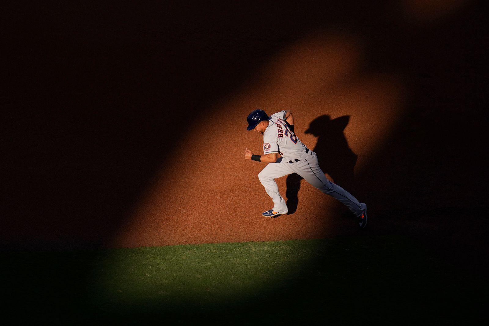 APTOPIX ALCS Astros Rays Baseball