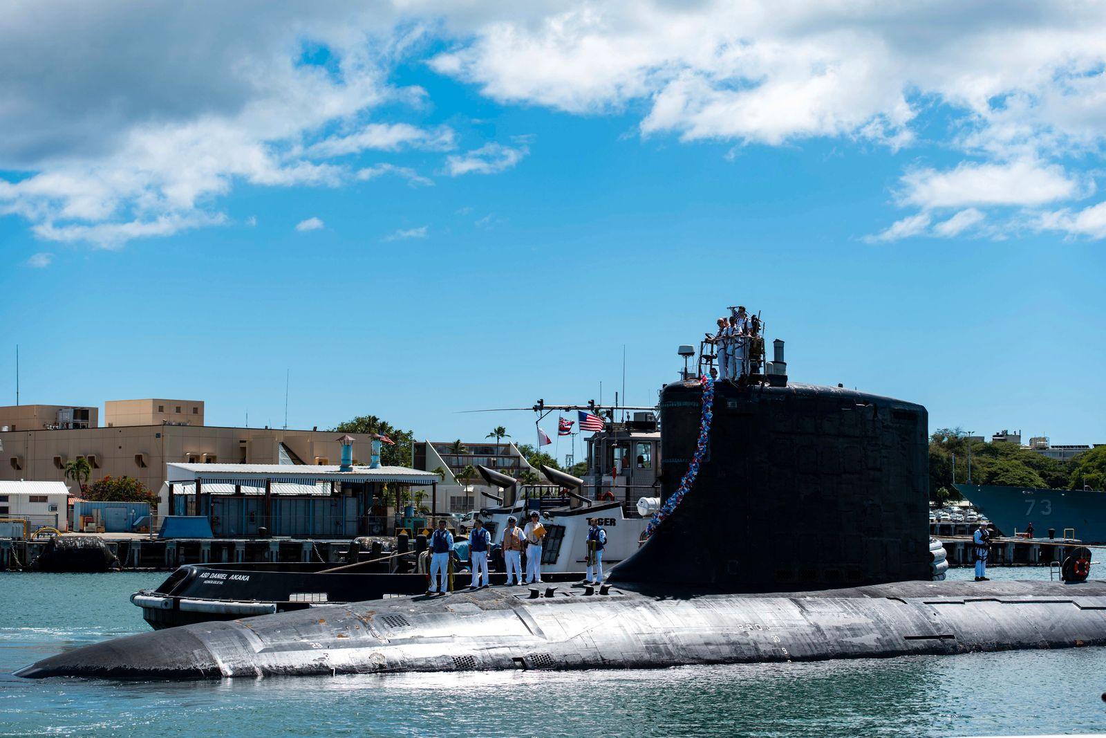 U-Boot-Deal - Schnellangriffs-U-Boot USS Illinois (SSN 786)