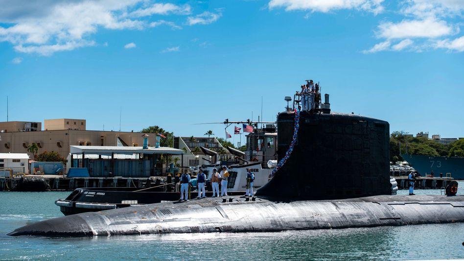 Atombetriebenes U-Boot der USA (Symbolfoto)