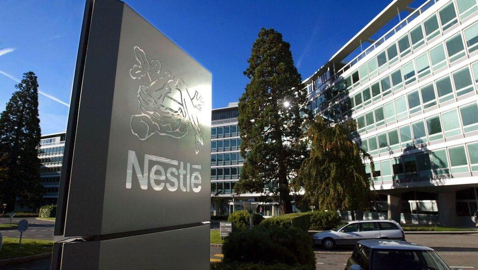 Nestlé-Zentrale im schweizerischen Vevey: Kampf gegen Fettleibigkeit und Diabetes