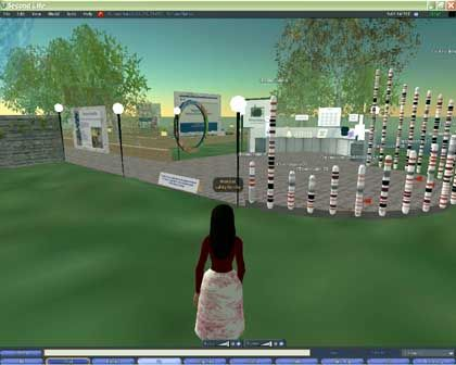 Nature's presence on Second Life: As shocking as the Queen moving to Las Vegas