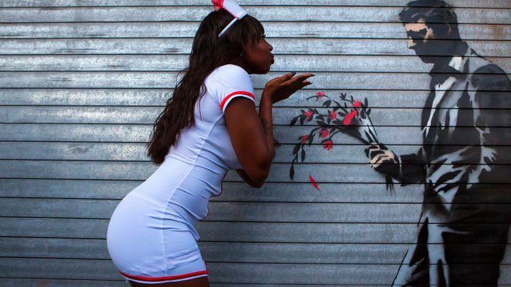 Banksy in New York: Im Bann der Schablonenkunst