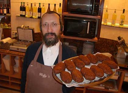 "Antwerp resident Jumi Hoffmann: ""The Yiddish  mensch is losing his bread."""
