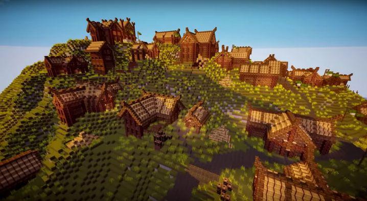 """Mittelerde als """"Minecraft""""-Map: Auch """"Der Herr der Ringe"""" wird verpixelt"""