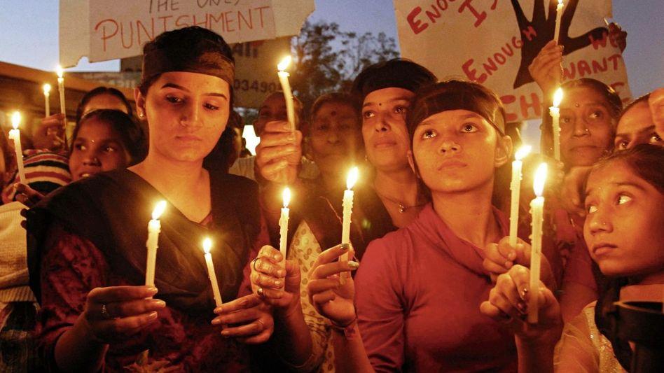 Frauen-Protest in Indien(*) Der Fall hat das Land verändert