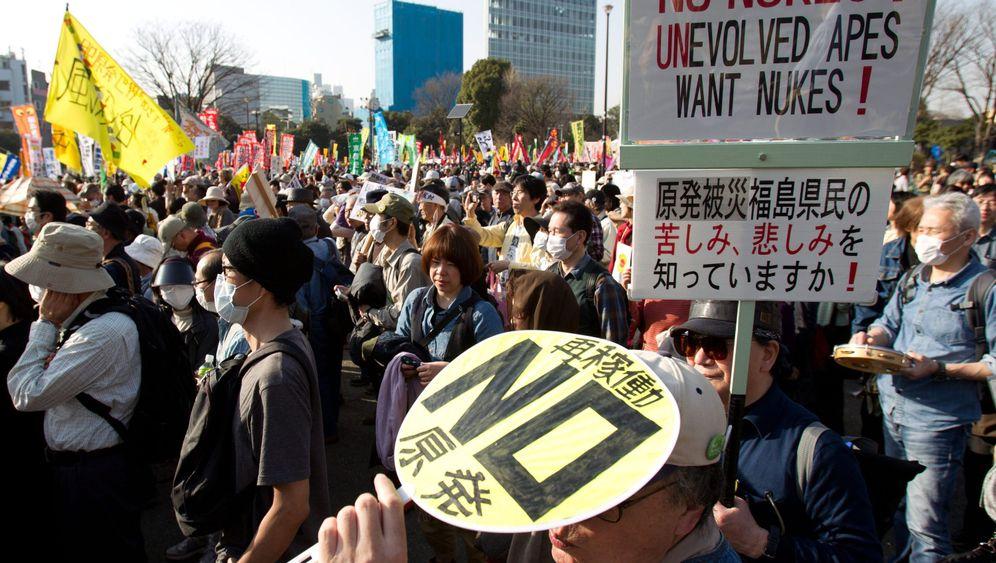 Fukushima: Demonstranten fordern Ende der Atomkraft in Japan
