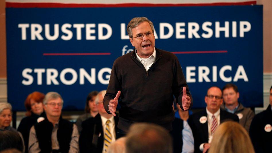 """Republikaner Bush in New Hampshire: Twitter-Nutzer diskutieren über dieses """"America"""""""