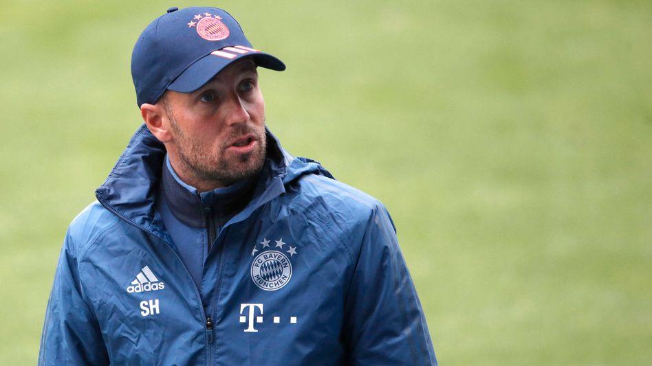 Sebastian Hoeneß als Trainer beim FC Bayern II