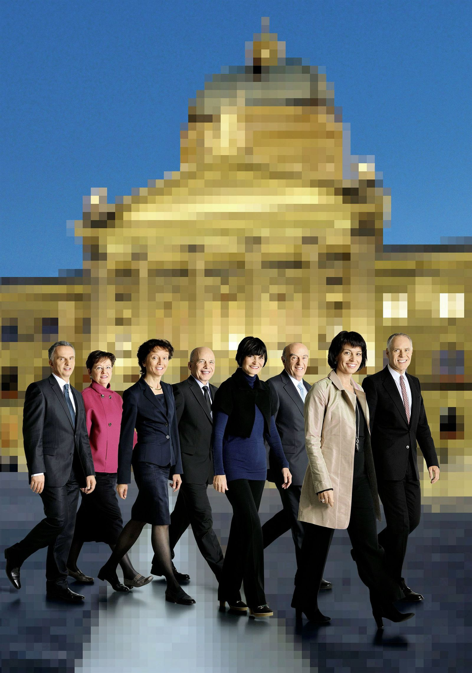 Offizielles Foto Schweizer Bundesrat