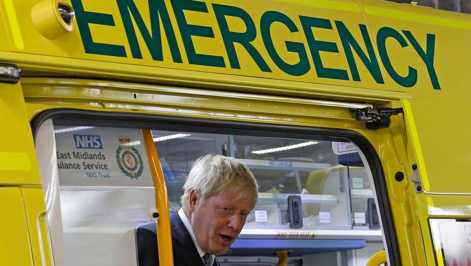 Abfahrt Richtung Brexit: Großbritanniens Premierminister Boris Johnson