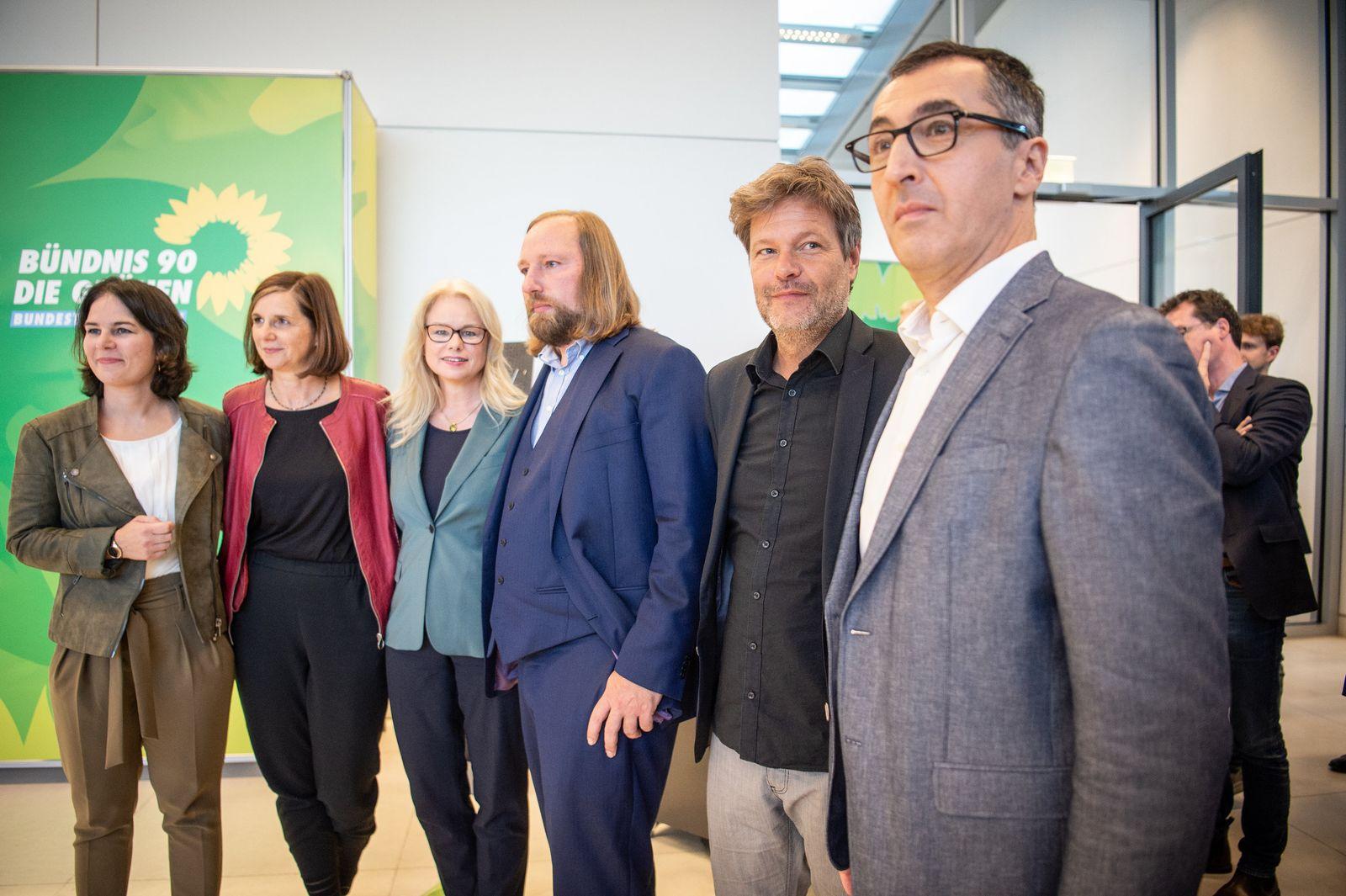 Fraktionssitzung der Grünen - Wahl der Vorsitzenden