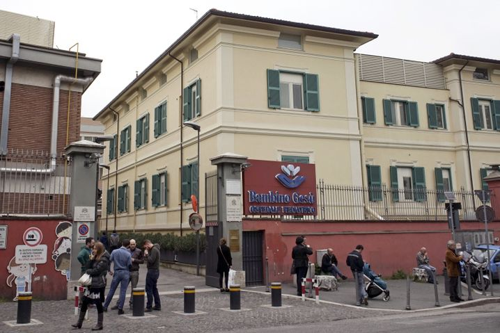 Kinderkrankenhaus im Vatikan