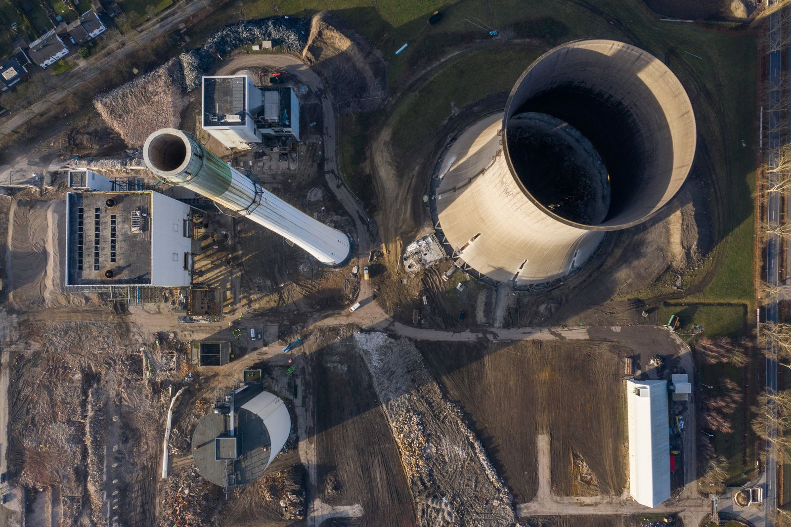 Stillgelegtes Kraftwerk Gustav Knepper wird gesprengt