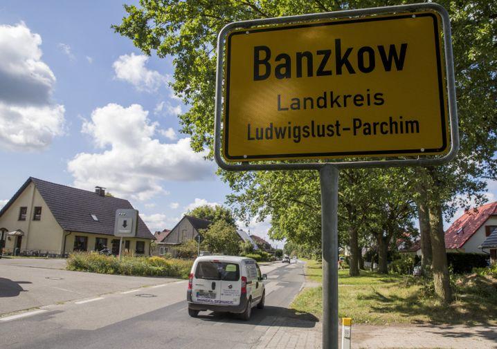 Ortsschild von Banzkow