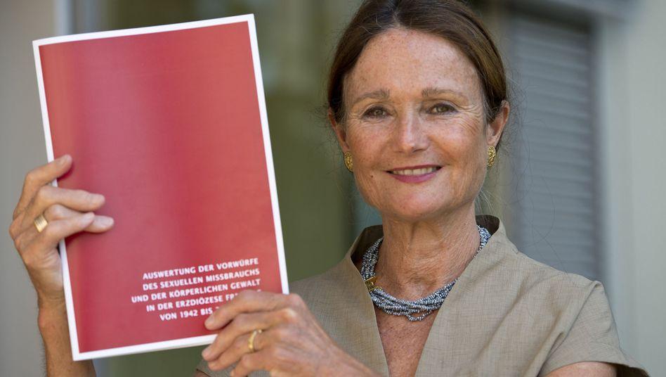 Sie arbeitete im Auftrag des Bistums Freiburg die Missbrauchsvorwürfe auf: Rechtsanwältin Angelika Musella