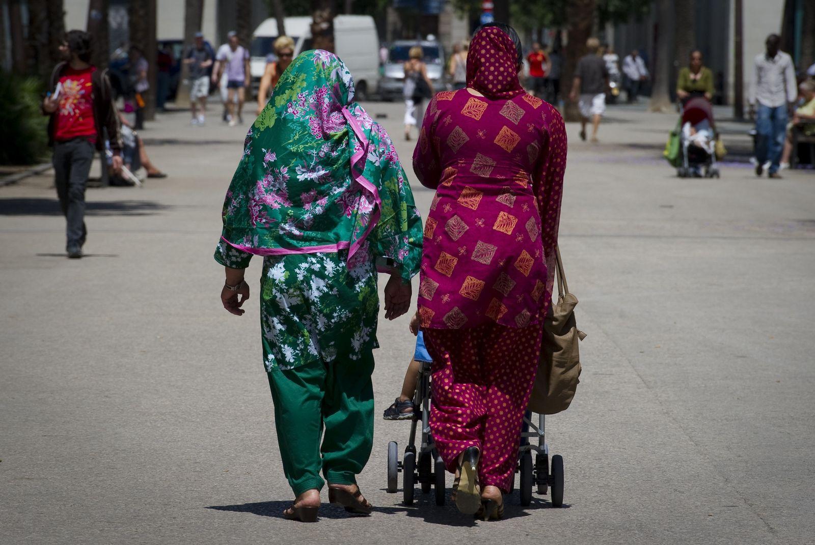 Spanien Burka