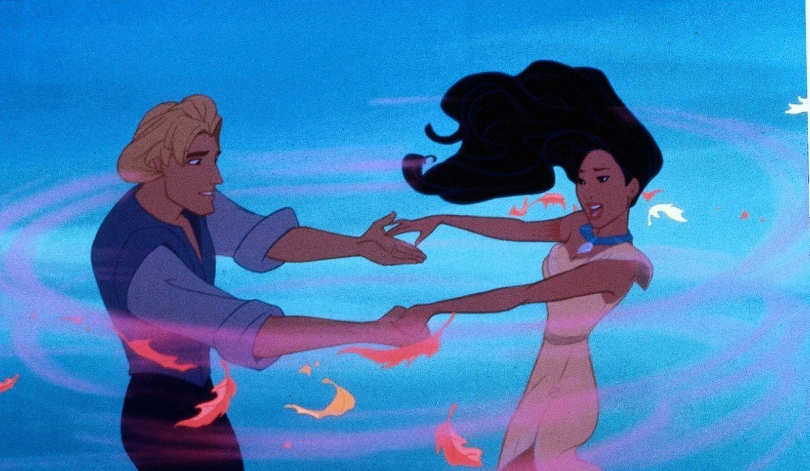 Fehler in Historienfilmen / Pocahontas