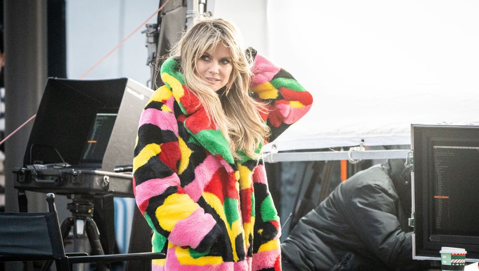 Heidi Klum (im November in Berlin): »Ich dachte immer, sie sei zu jung«