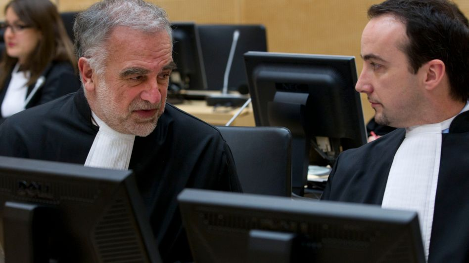 International Criminal Court Prosecutor Louis Moreno-Ocampo (left) has been accused of being petty and self-important.
