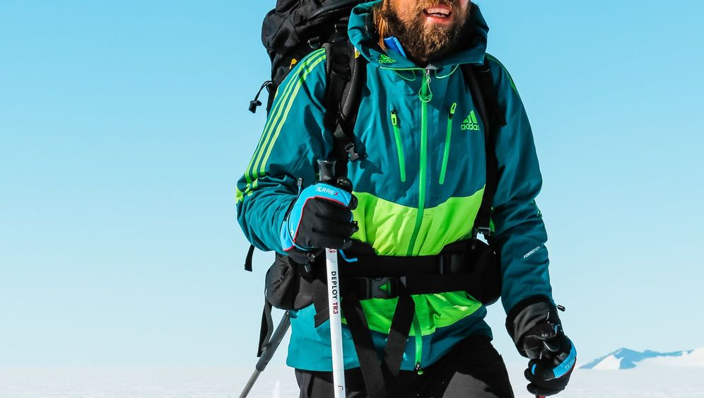 Extremsportler Martin Szwed: Unsichtbar am Südpol