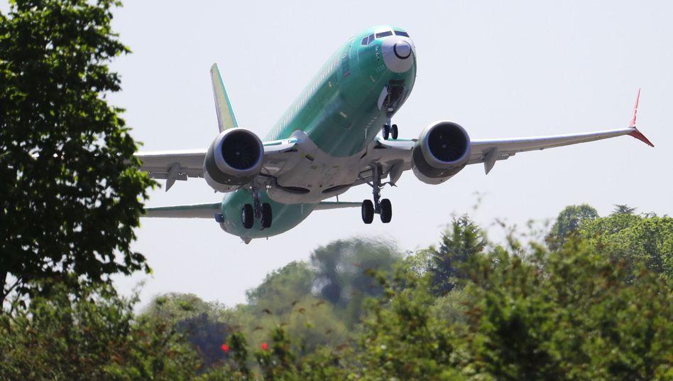 Boeing 737 Max 8: Derzeit nur Testflüge erlaubt