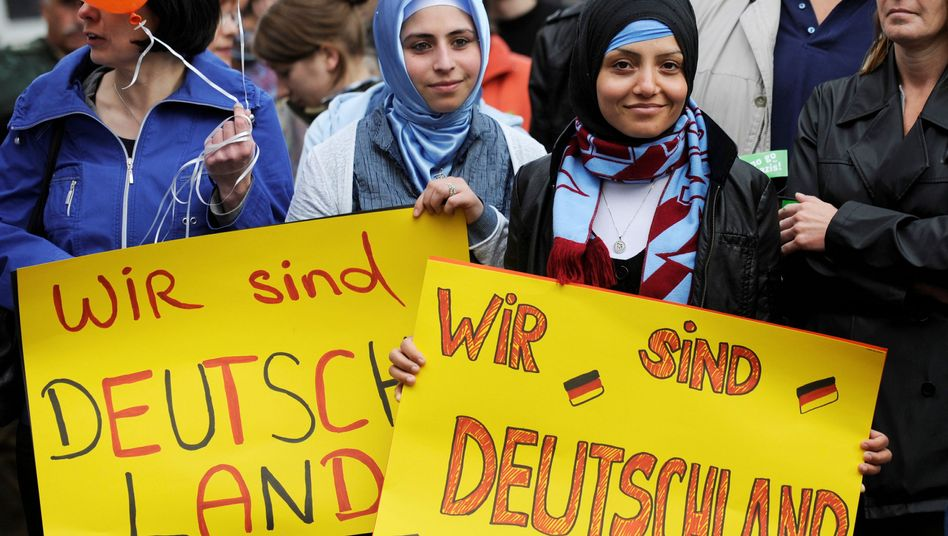 Migranten in Deutschland: Kanzlerin stellt sich vor die in Deutschland lebenden Türken