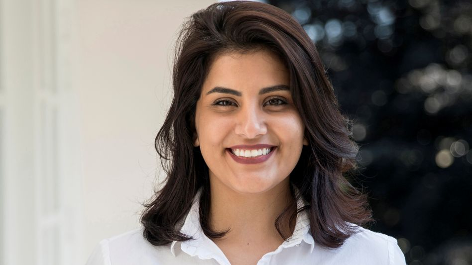 Die saudi-arabische Frauenrechtlerin Loujain Alhathloul