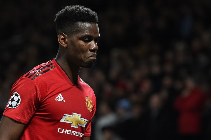 Manchester United midfielder Paul Pogba: a transfer fee of 105 million euros and an annual salary of 17.2 million euros