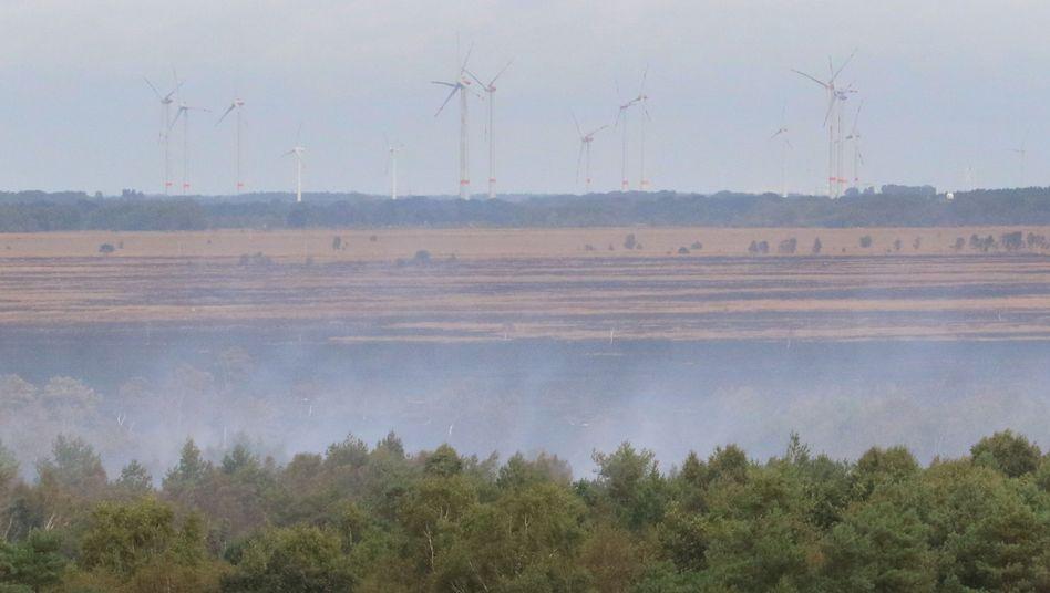 Moorbrand bei Meppen