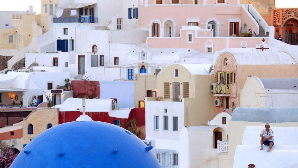 Santorini, Griechenland: Jeder Grieche darf pro Tag nur noch 60 Euro abheben