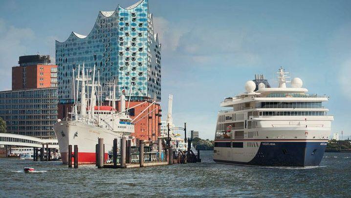 """Rundgang auf der """"Hanseatic nature"""": Aquariumgefühl und Pinguinwacht"""